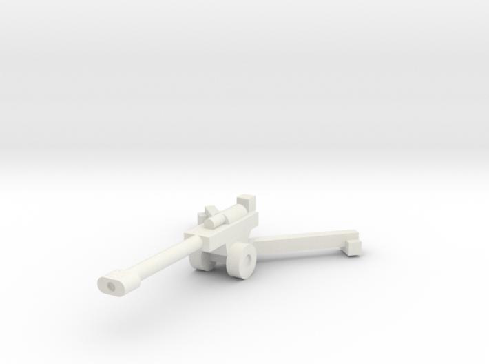 1/144 155mm M198 (x1) 3d printed