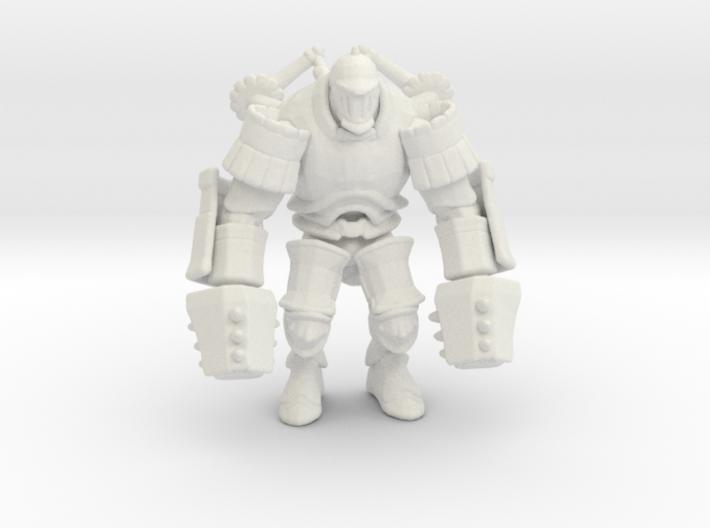 Iron Giant jaeger mech Pacific Rim miniature games 3d printed