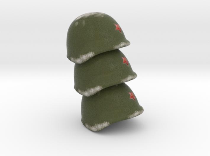 3 Russian Helmet WW2 p 3d printed