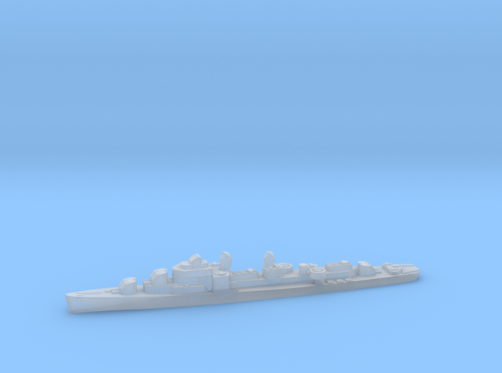 USS Stormes destroyer 1:3000 WW2 3d printed
