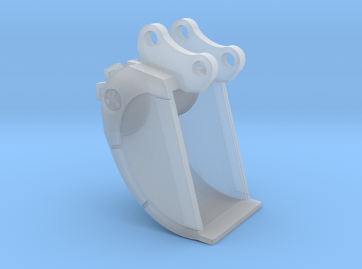 1/64th Excavator Roller Compaction Bucket 3d printed