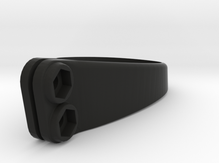 Saddle Clamp Number Holder - S-Works 3d printed