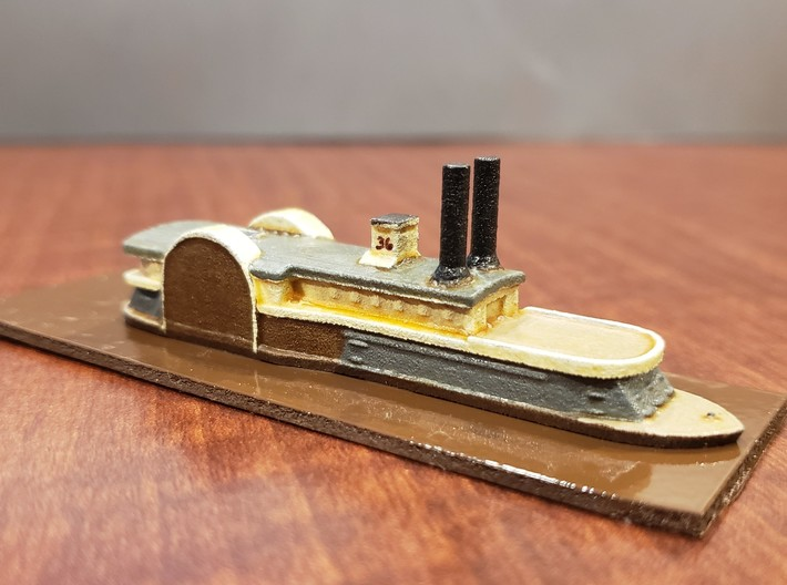 1/600 USS Peosta 3d printed Painted by David Wallace Kent
