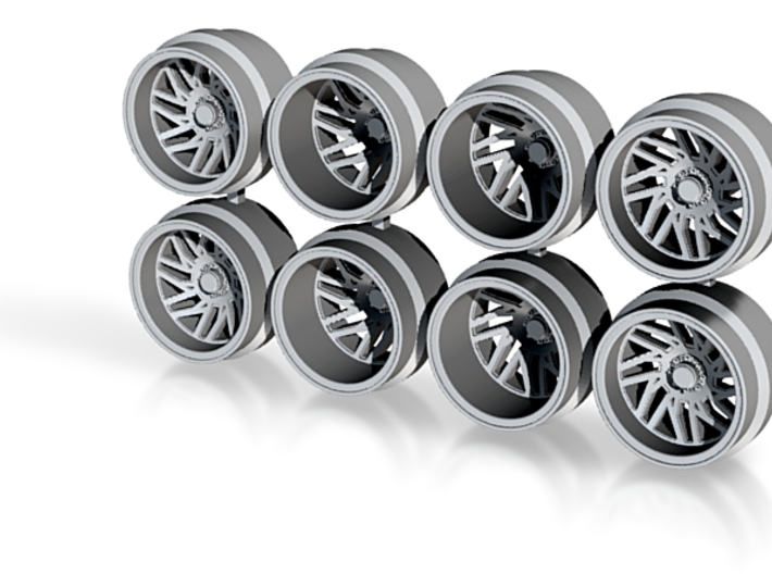 TISBM 11-3 Hot Wheels Truck Rims 3d printed