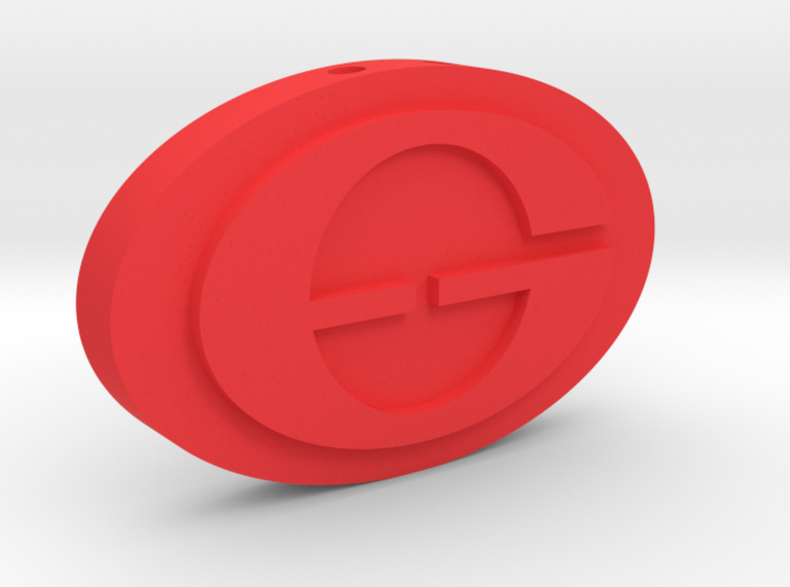The Incredibles - Elastigirl Logo Charm 3d printed