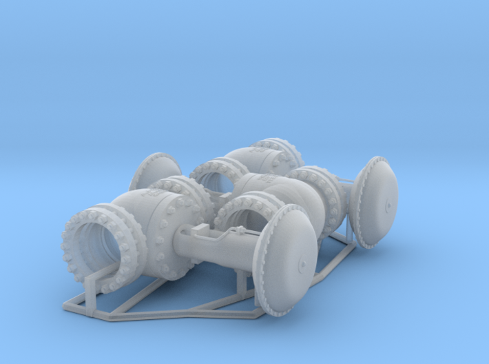 Pipeline Accessory System Valve4 3d printed