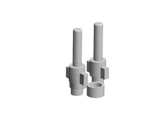 Korbanth AS2 Switch Plungers 3d printed