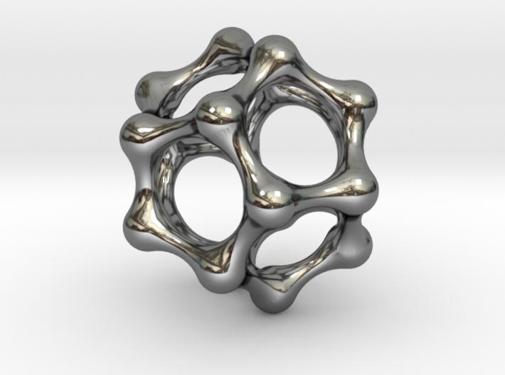 Water Cluster Pendant 3d printed