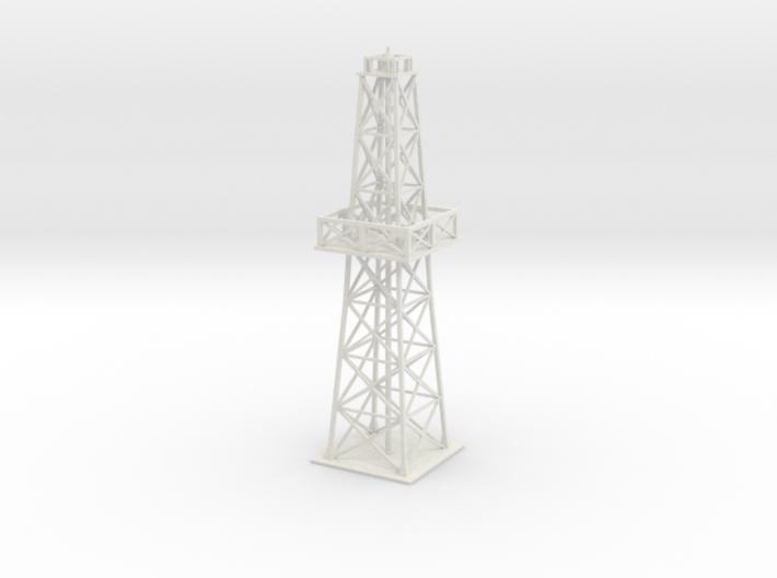 Oil rig - short 3d printed