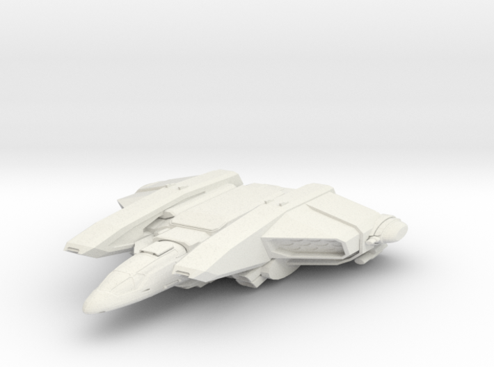 Federation Cougar Class Defense Fighter 3d printed