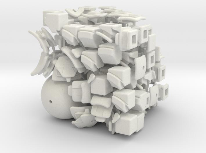 Peek Cube 3d printed