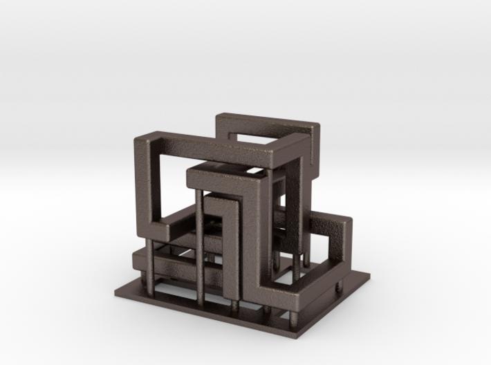 Dutch Rings - metal 3d printed