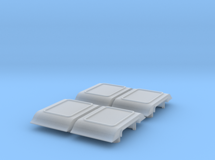 4-Wheel Coach Ducket 3d printed