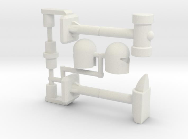 Refraktor to Rack n' Ruin Kit (Siege) 3d printed