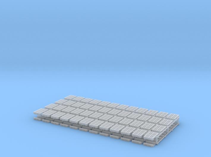 Z- scale pallet set 3d printed