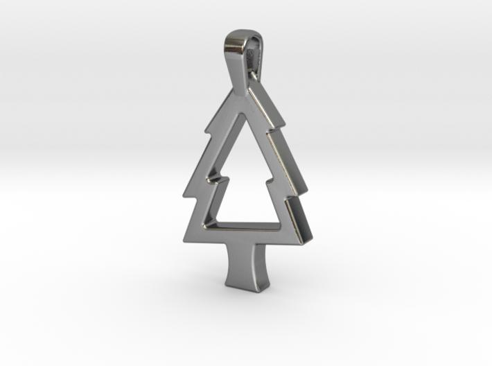 Elegant Christmas Tree 3d printed