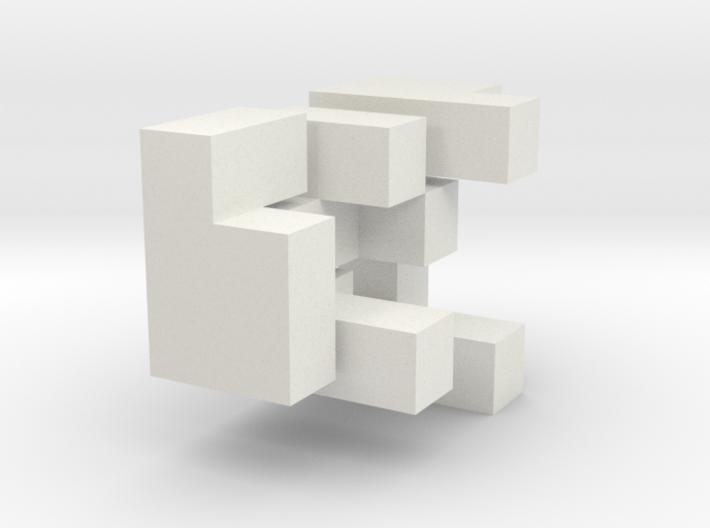 3D Puzzle Cube 3d printed