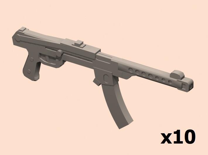 1/35 PPS-43 submachine gun 3d printed