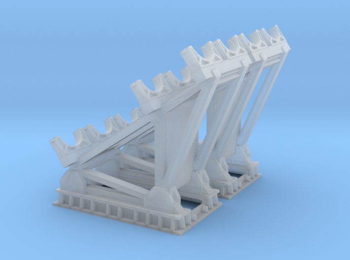 1/96 scale RGM-84 HARPOON Cradle 3d printed