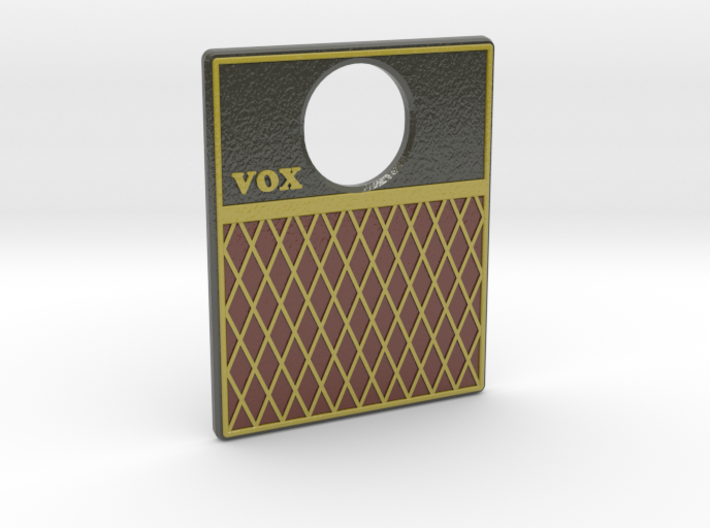 Pinball Plunger Plate - Sub & Amp - VOX 3d printed