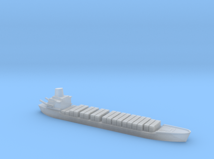 1/2400 Scale Jervis Bay Bulk Carrier Ship 3d printed
