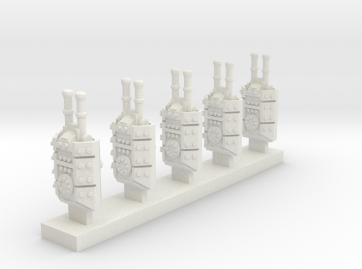 Heavy Armoured Turrets x5 3d printed