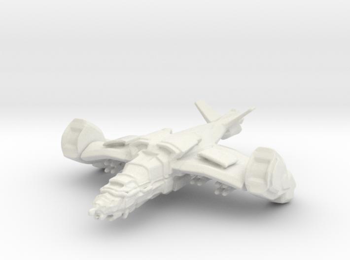Gremlin Gunship, 15mm 3d printed