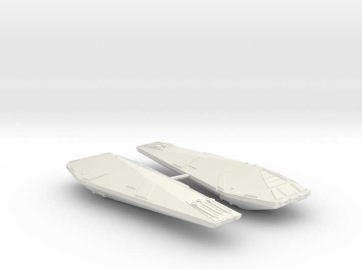 3125 Scale Hydran Lancer Destroyers (2) CVN 3d printed