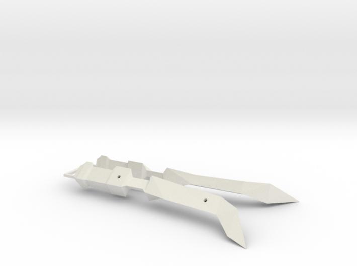 1/1000 Eta Lyrae Light Cruiser Nacelle Set Of Two 3d printed