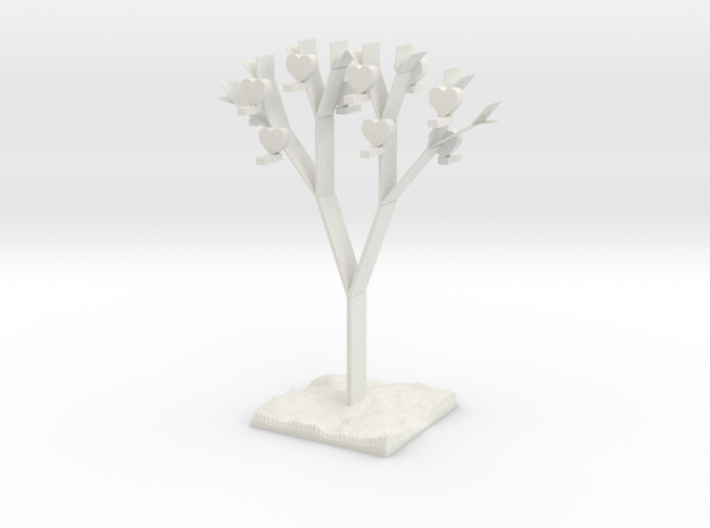 sustainable love 3d printed