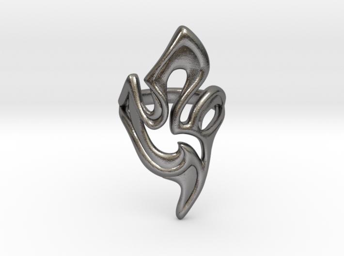 Blade Ring 3d printed