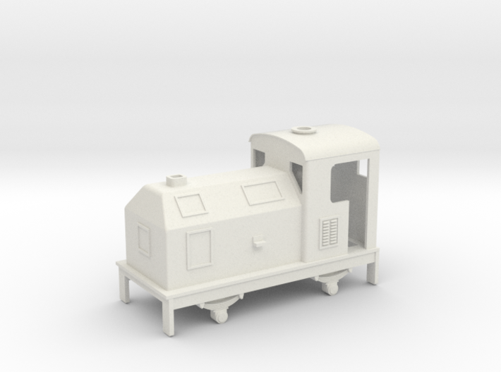 009 later type Sentinel loco 3d printed