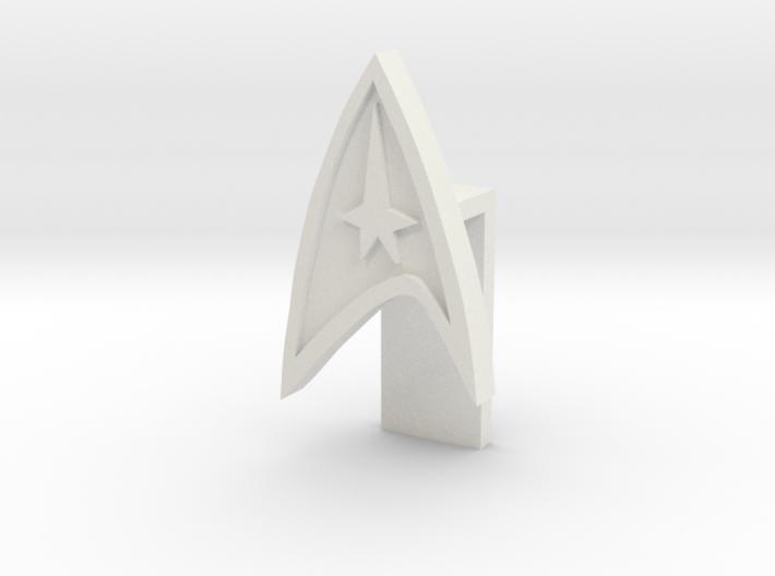 Laptop Video Lense cover (Star trek) 3d printed
