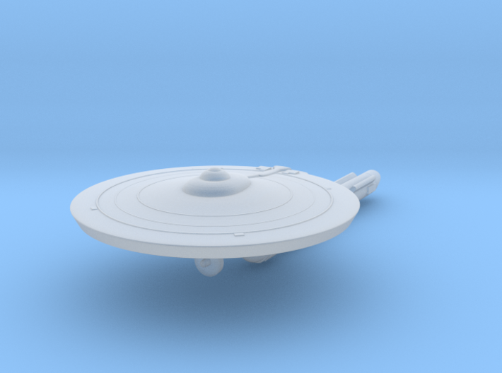 Hermes Class, 1:7700 Scale 3d printed