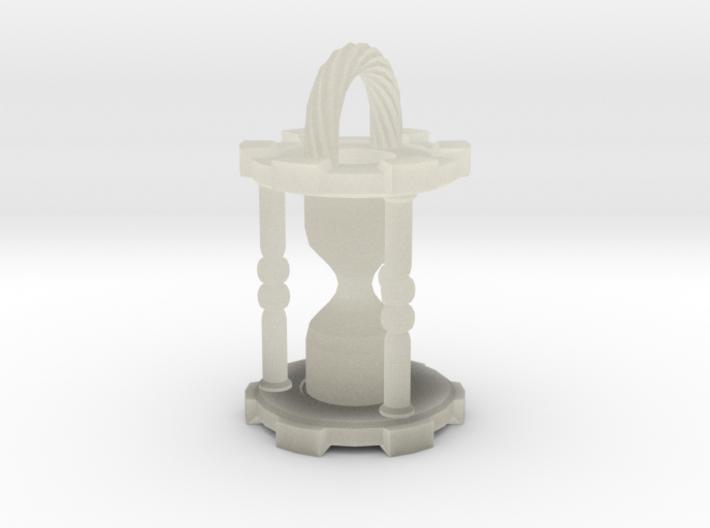 HourglassPendantSmaller 3d printed