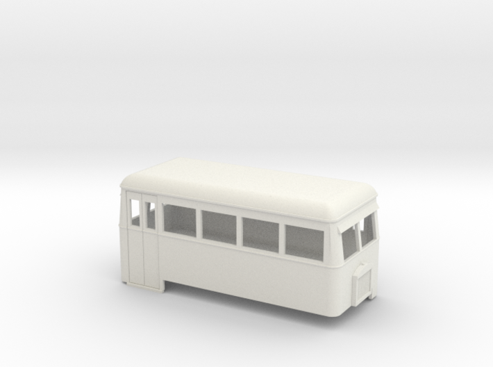 009 short double-ended railbus 3d printed