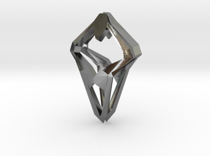 Prototype, Pendant. Sharp Chic 3d printed
