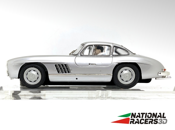 Chassis Top Slot MERCEDES BENZ 300SL COUPE (In) 3d printed