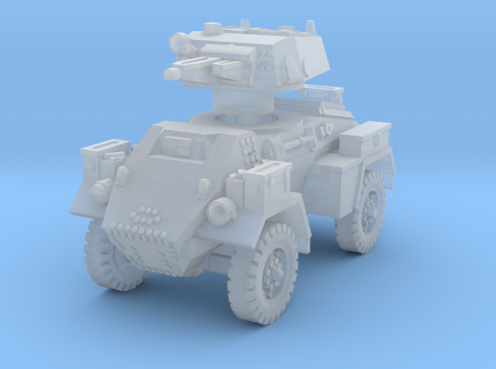 Fox Armoured Car 1/200 3d printed