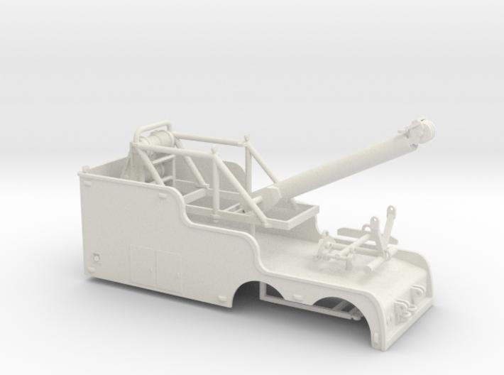 1/50th Tandem 22' Big Stick tow wrecker body 3d printed