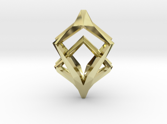 HEART TO HEART Elements, Pendant 3d printed