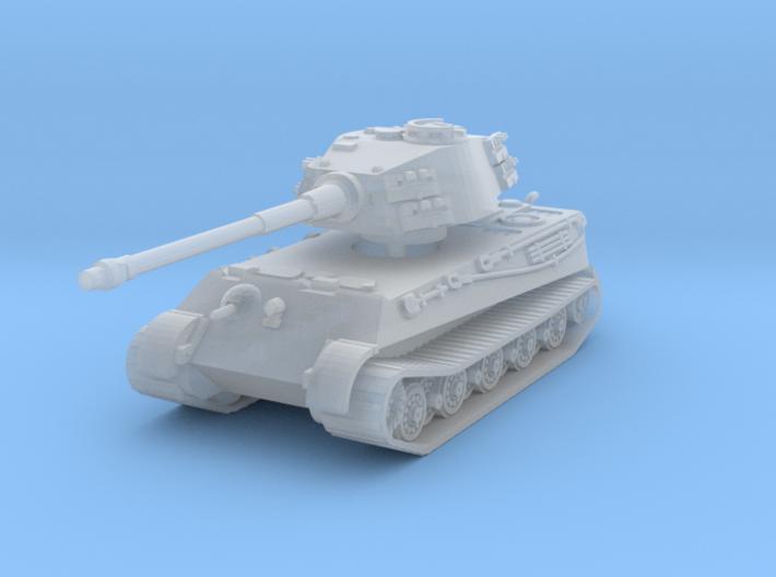 Tiger II H (no Skirts) 1/200 3d printed