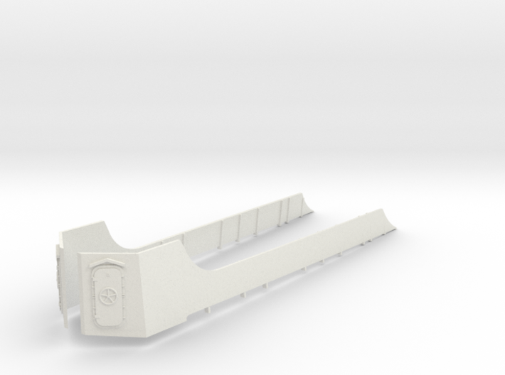 1/96 USS Cecil Superstructure5 3d printed