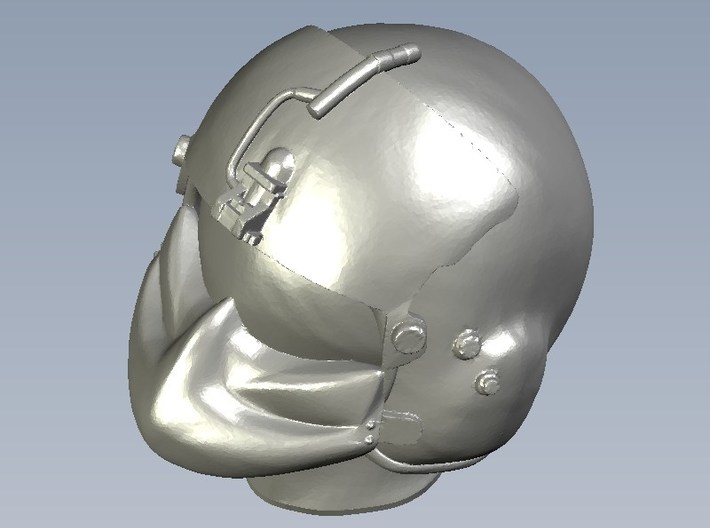 1/48 scale gunner HGU-56P helmet & shield head x15 3d printed