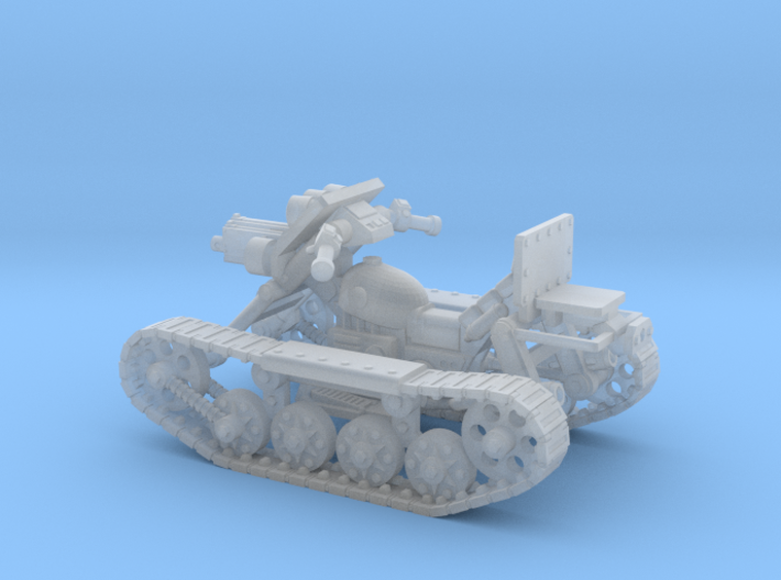 28mm SciFi Astro trackcycle 3d printed