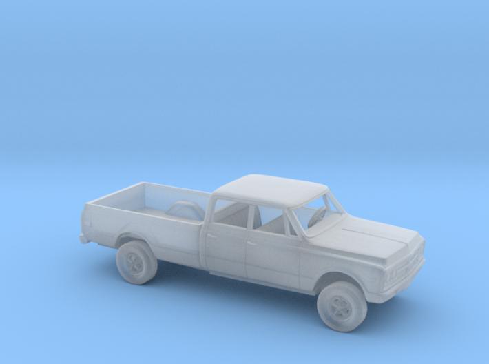 1/87 1967-72 GMC CK Crew Cab Kit 3d printed