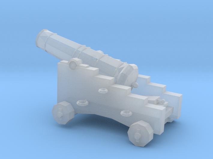 1/96 Scale 9 Pounder Naval Gun 3d printed