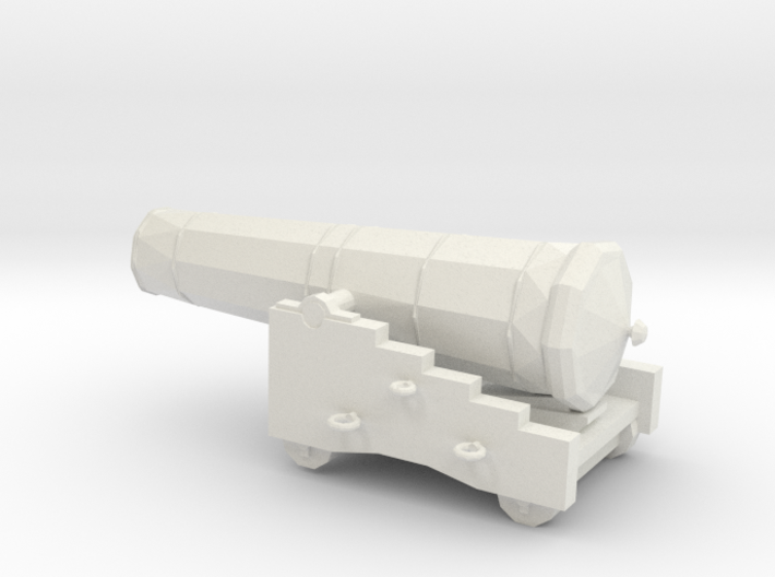 1/48 Scale 42 Pounder Naval Gun 3d printed
