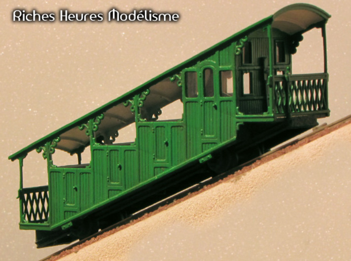 HOfunMD32 - Mont Dore funicular part 3d printed