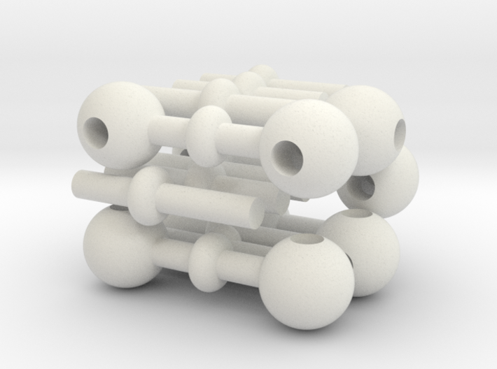 Scaffold Cube 3d printed